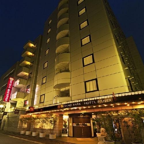 Grand Park Hotel Panex Tokyo Map