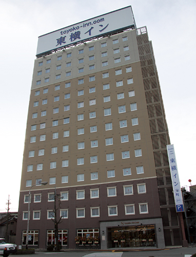 東横イン富山駅新幹線口1 image