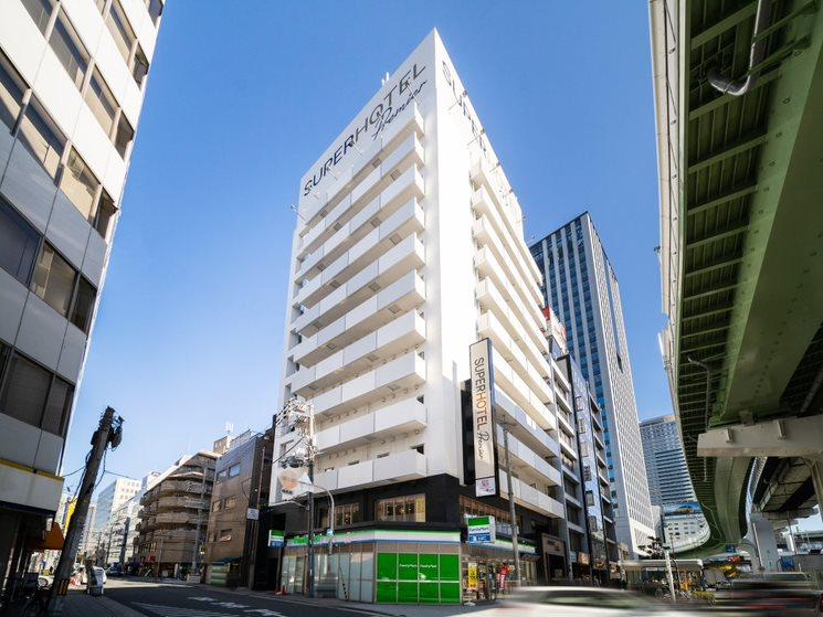 スーパーホテルLohas地下鉄四つ橋線・本町24号口