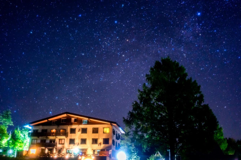 星降る高原の小さなホテル 栂池高原 ホテル白馬ベルグハウス