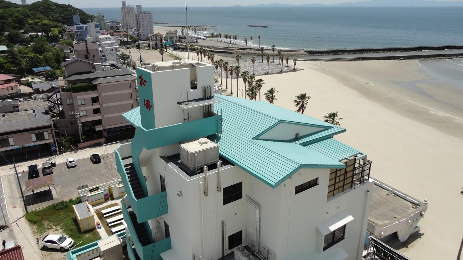 内海温泉 浜辺のホテル 松涛