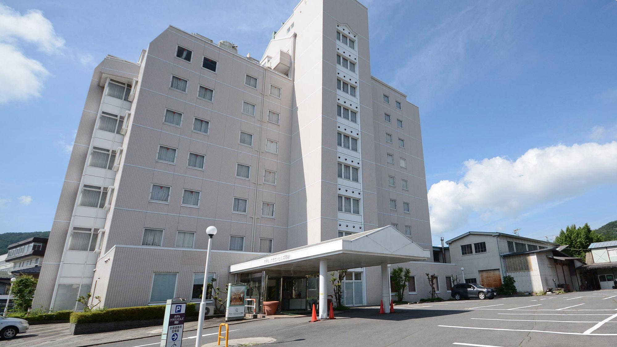 ホテルクラウンヒルズ岡谷(旧:岡谷パークホテル/BBHホテルグループ)
