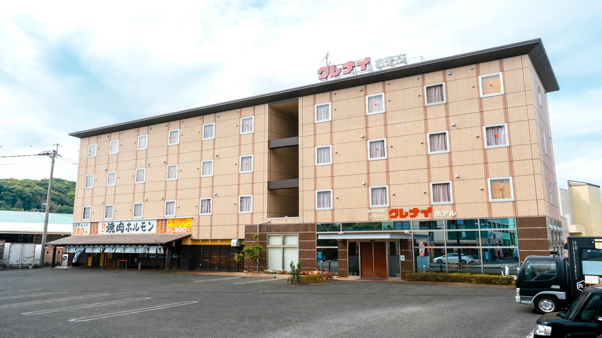 熊本市場前 ビジネス クレナイホテル